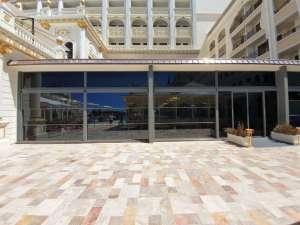 AVM için Giyotin Cam Balkon Projesi Antalya